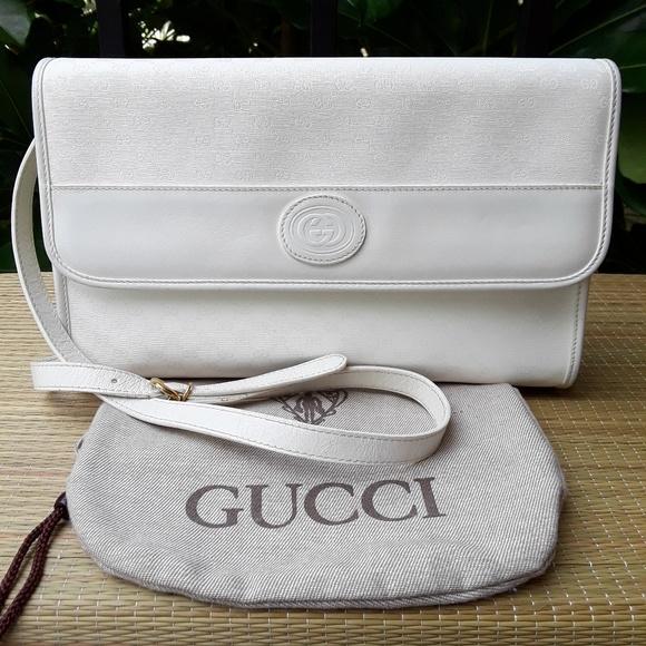 cabc103b116a Gucci Bags | Vintage Gg Signature Shoulder Bag Authentic | Poshmark